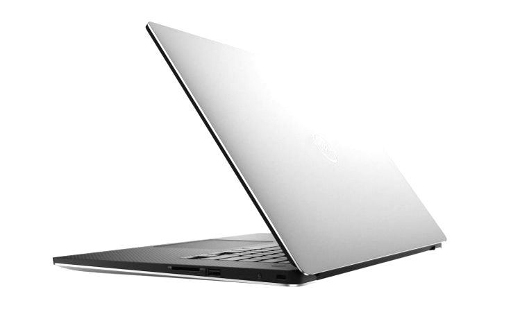 Dell XPS 15 laptop.