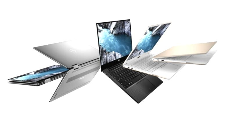 Dell XPS 15 laptops.