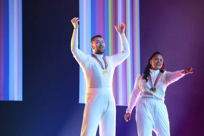 Demi Lovato, Sam Smith unveil 'musical theatre'-inspired song 'I'm ready'.
