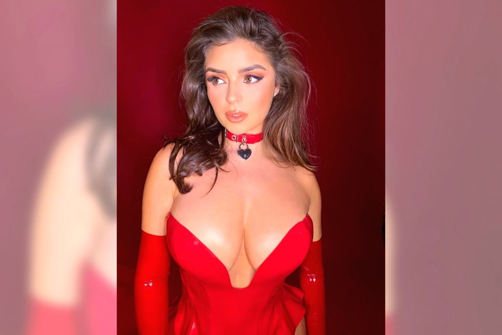 Demi Rose wants to be a superhero and bust coronavirus.