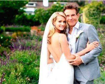 Dennis Quaid secretly marries Laura Savoie.