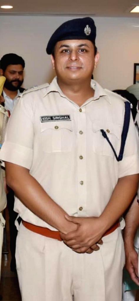 Deputy Commissioner of Police (New Delhi) Eish Singhal