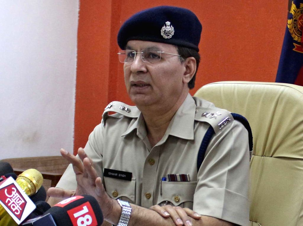 Deputy Commissioner of Police (South) Ishwar Singh. (File Photo: IANS) - Ishwar Singh