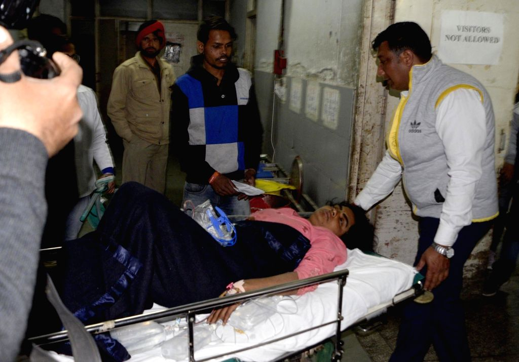 Dera Baba Nanak: The young woman intruder from Pakistan who was shot at and injured by Border Security Force (BSF) troopers in the Dera Baba Nanak sector of Punjab's Gurdaspur district receives ...