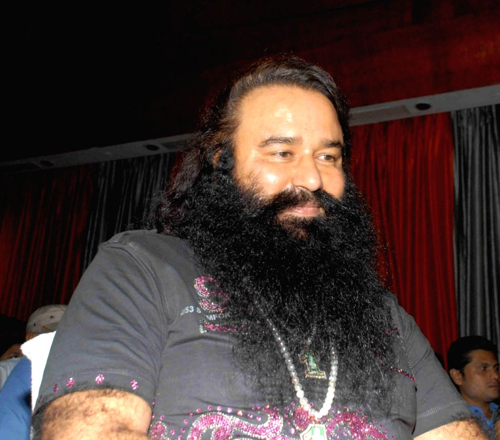 Dera Sacha Sauda chief Gurmeet Ram Rahim Singh. (File Photo: IANS)