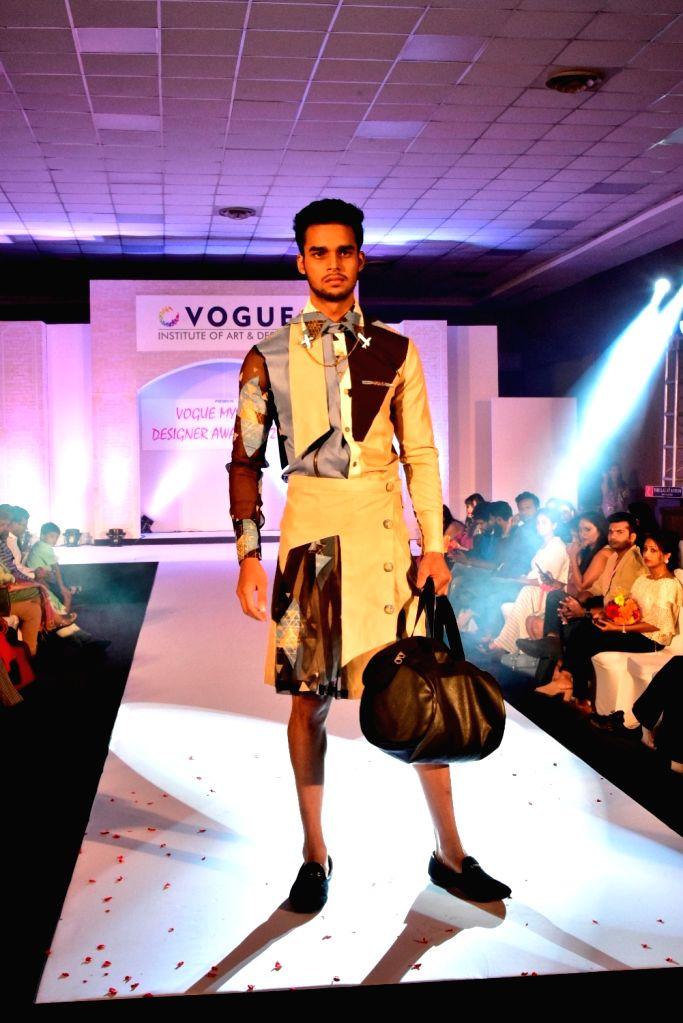 Designed by Karishma Shah, student at Vogue Institute of Art & Design. - Karishma Shah
