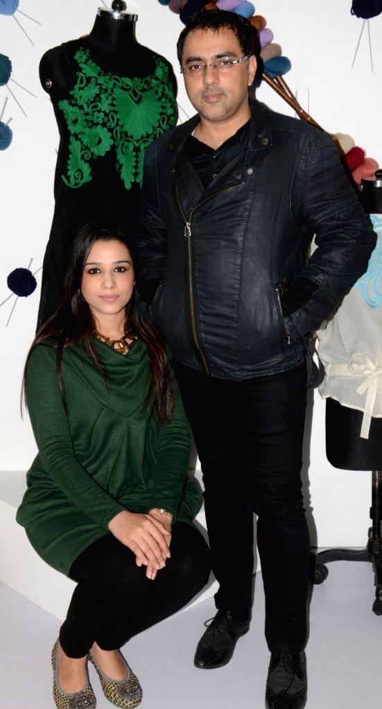 Designer duo Pankaj and Nidhi