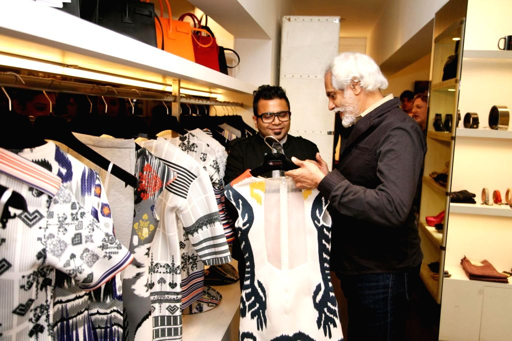 Designer Hemant with Mr Sunil Sethi