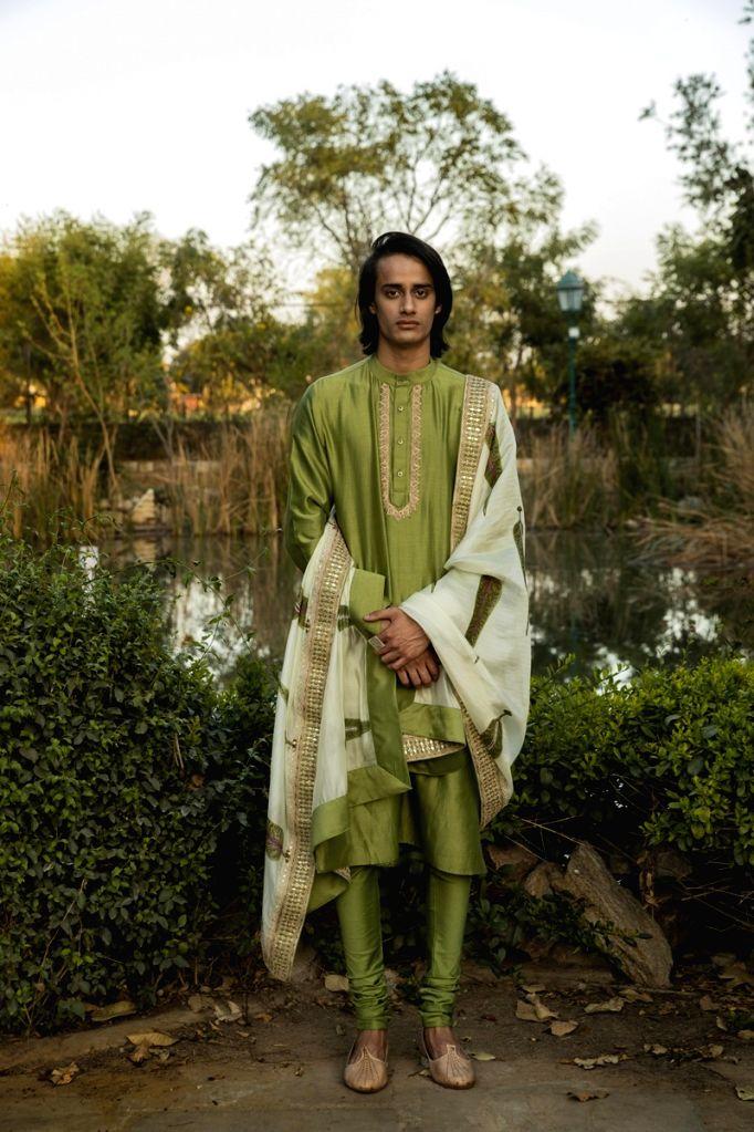 Designer Punit Balana forays into menswear.(photo:IANSLIFE)