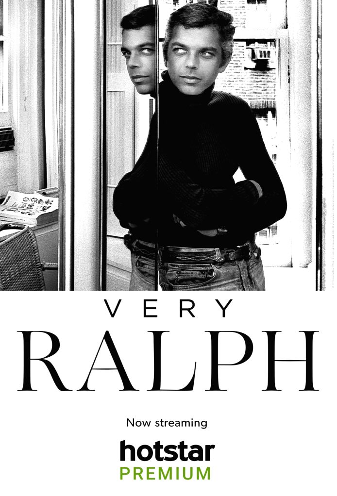 Designer Ralph Lauren says fashion sounds like a frivolous thing, but gives people a way to express emotions and thoughts.