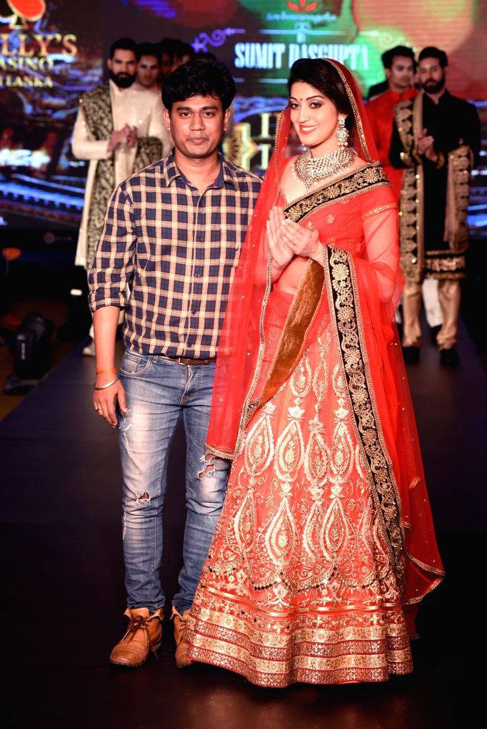 Designer Sumit Dasgupta during the lndia`s first Men`s Fashion Week - ILSW, in Bengaluru on 16 Aug 2015.
