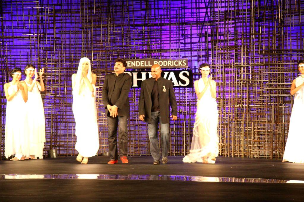Designer Wendell Rocdericks Show at Chivas Tour at Grand Hyatt.