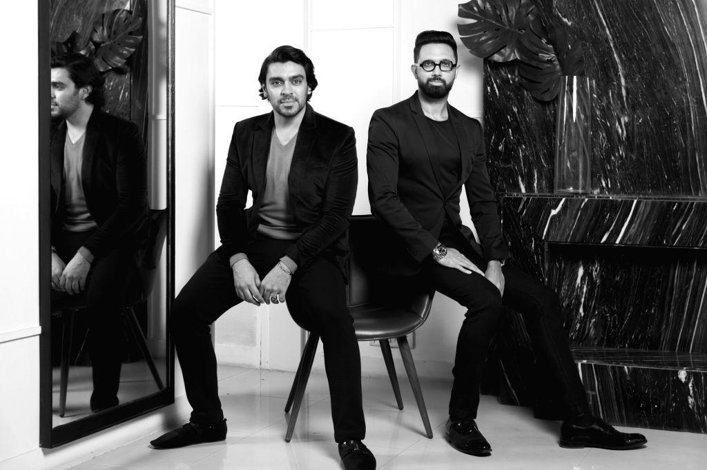Designers Shivan and Narresh.
