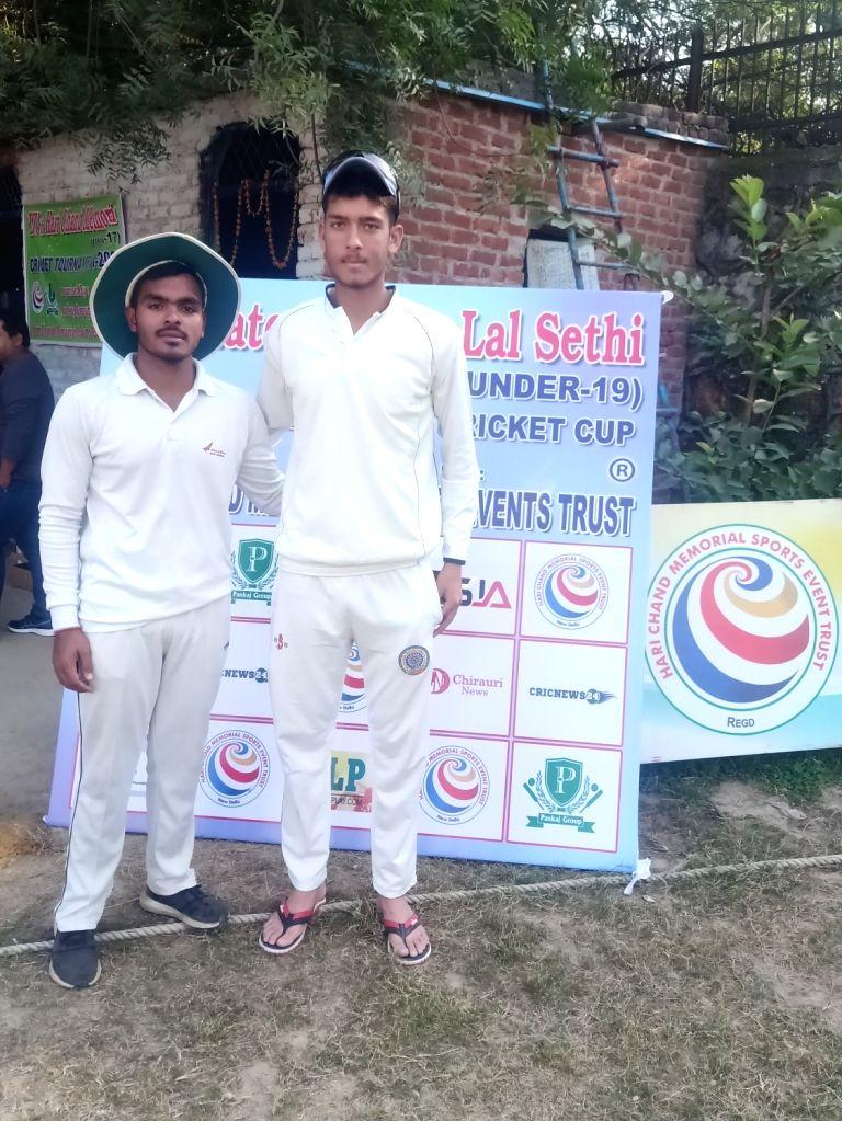 Dev Lakra and Abhishek.