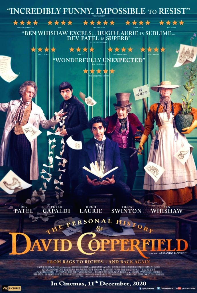 Dev Patel-starrer 'The Personal History Of David Copperfield' in Indian theatres on Dec 11. - Dev Patel