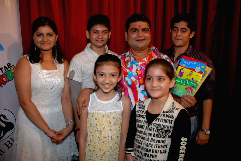 Deven Bhojani at Gattu tales launch at Nehru Center.