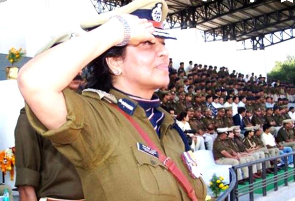 DGP Kanchan Choudhary Bhattacharya - Kanchan Choudhary Bhattacharya