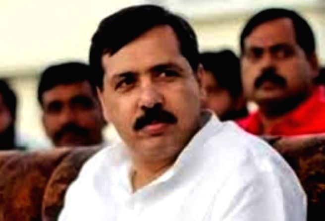 Dhananjay Singh former MP. - Dhananjay Singh