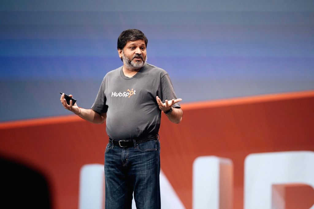 Dharmesh Shah, the co-founder and CTO of US-based CRM software platform HubSpot that is aggressively focussing on the Indian market. - Dharmesh Shah
