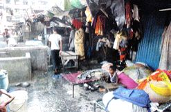 Dhobi Ghat - A view of the washing section