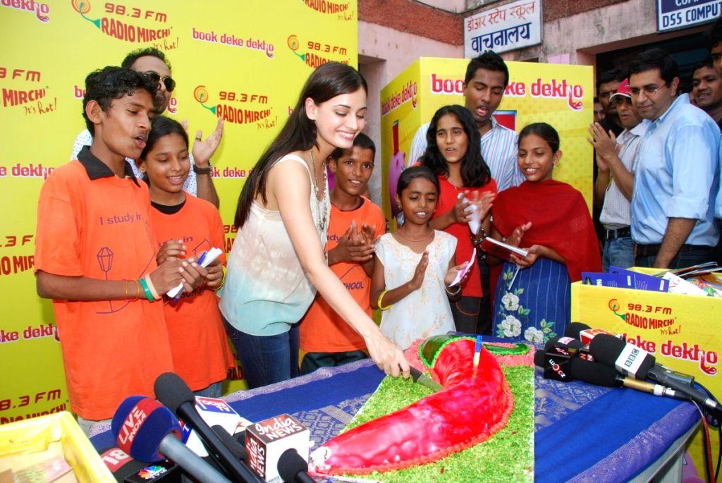 Dia Mirza at Radio Mirchi Book Deke Dekho Event in Mumbai.