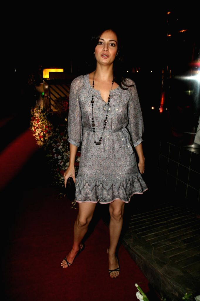 Dia Mirza at the Launch of Rgale Restaurant in Mumbai. - Dia Mirza