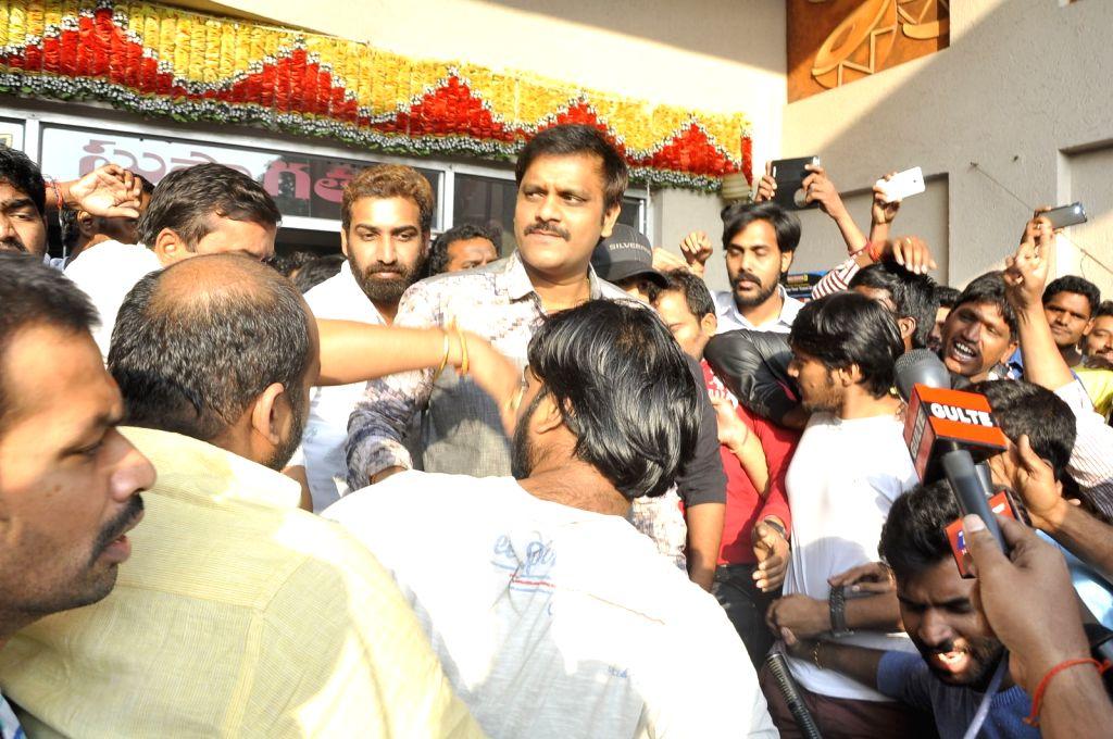 Dictator Benefit Show at Bramarambha Theatre.