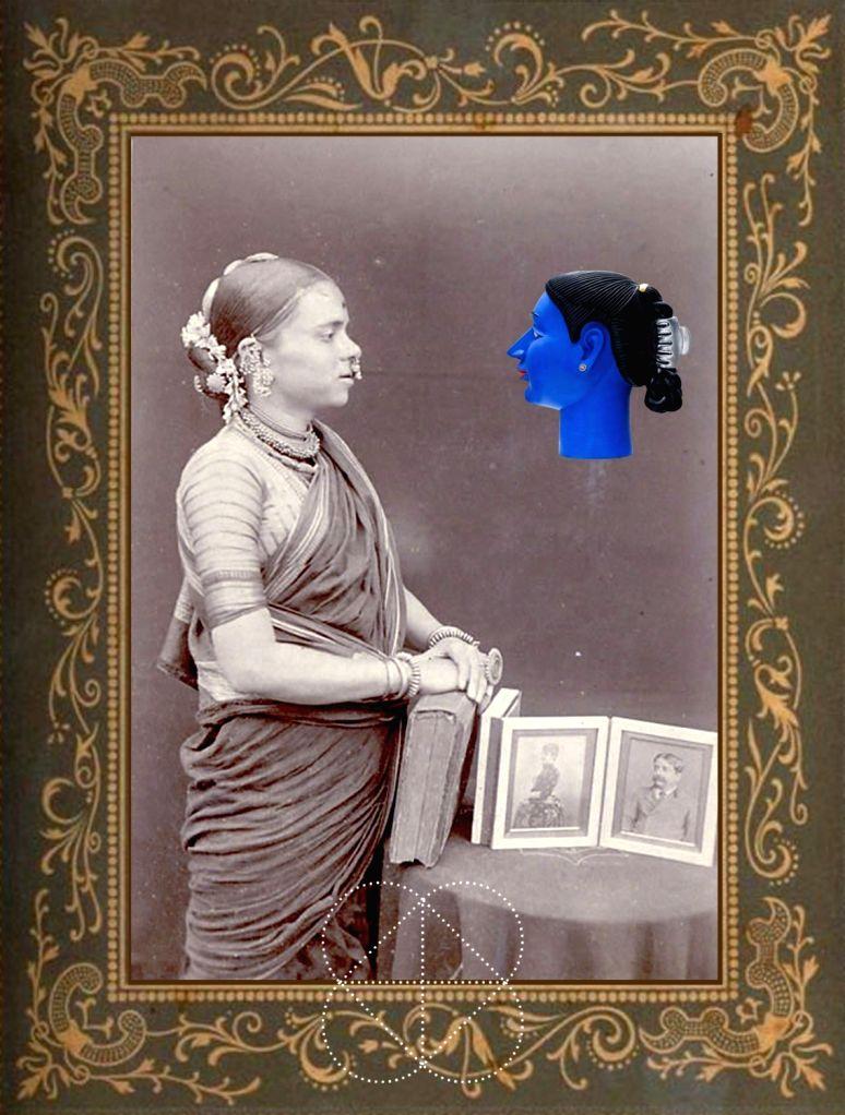 Digital art by Masuram Ravikanth. (Photo Source: Triveni Kala Sangam/Masuram Ravikanth)