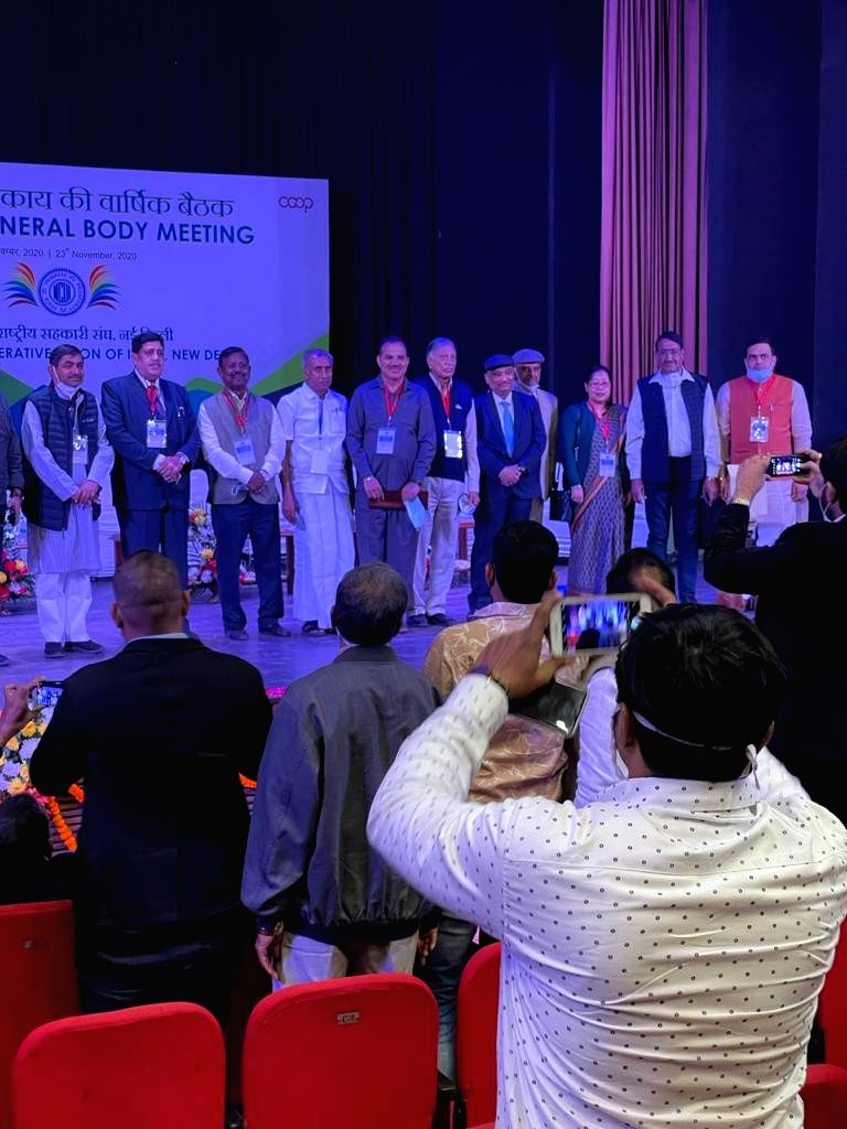 Dilip Sanghani elected as new president of Indian National Cooperative Association.
