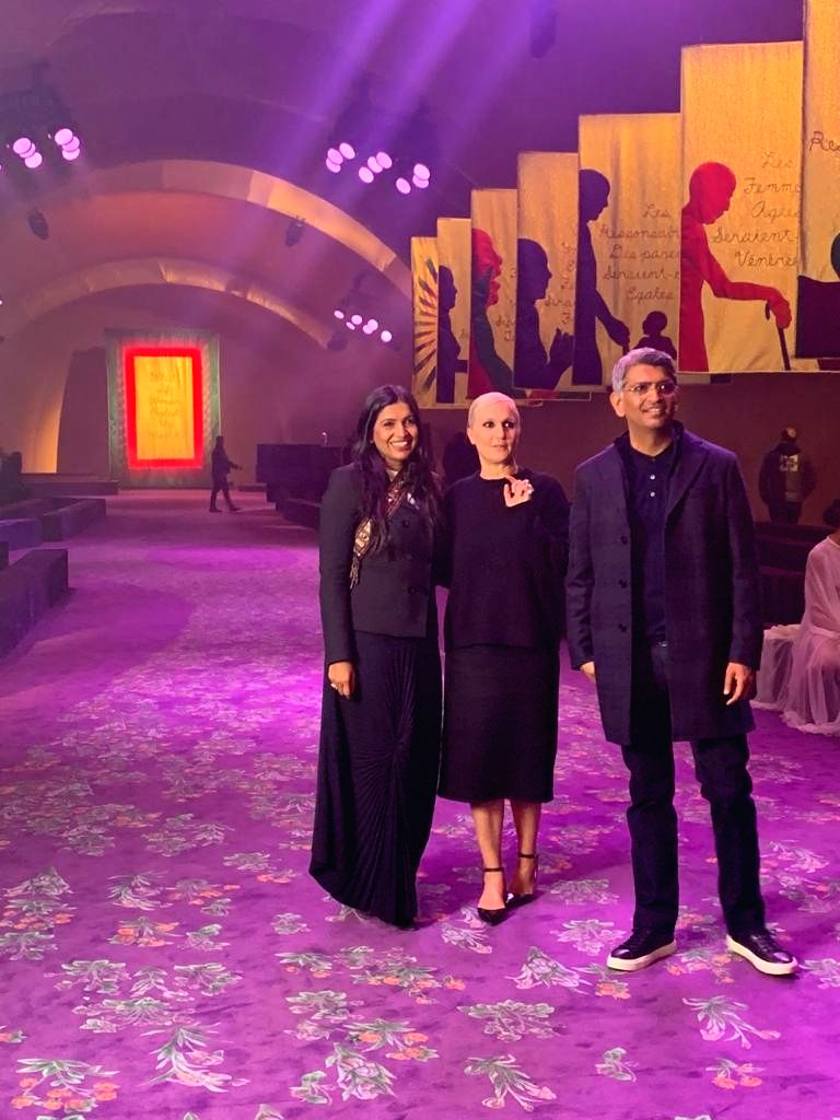 Dior collaborates with Chanakya School Of Craft