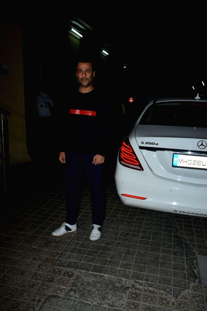 "Directer Abhishek Kapoor at the screening of upcoming film ""Kedarnath"" in Mumbai on Dec 4, 2018. - Directer Abhishek Kapoor"