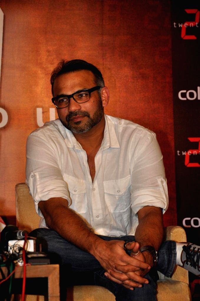 :Director Abhinay Deo at the announcement of TV Series 24 on COLORS channel at Hotel Trident in Mumbai. (Photo: IANS).