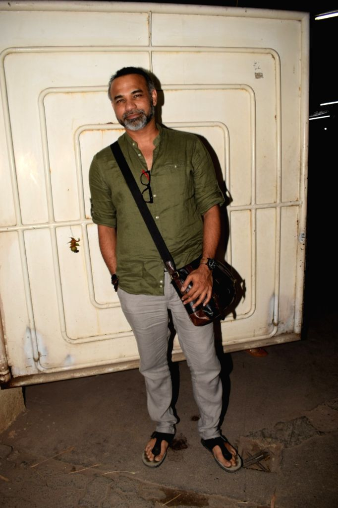 """Director Abhinay Deo at the special screening of film """"Blackmail"""" in Mumbai on April 5, 2018."""