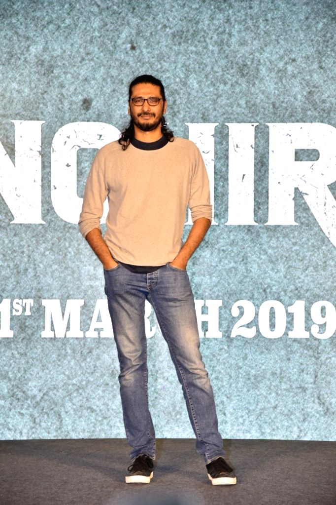 Director Abhishek Chaubey during a press conference to promote his upcoming film 'Sonchiriya' in Mumbai, on Feb 9, 2019.