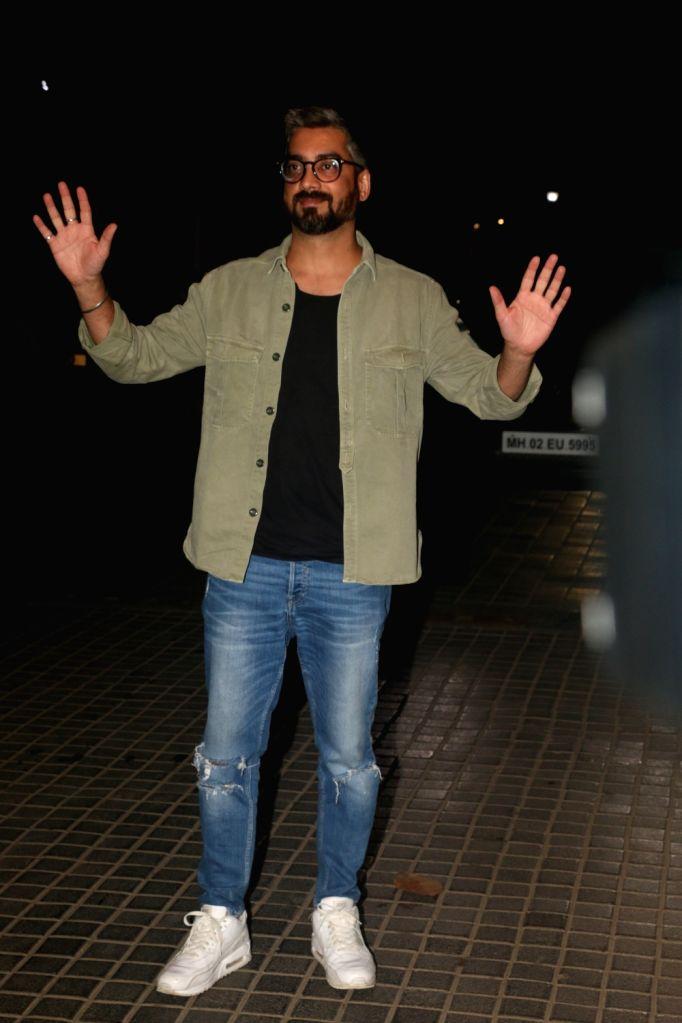 "Director Amit Sharma at the screening of the upcoming film ""India's Most Wanted"" in Mumbai, on May 22, 2019. - Amit Sharma"