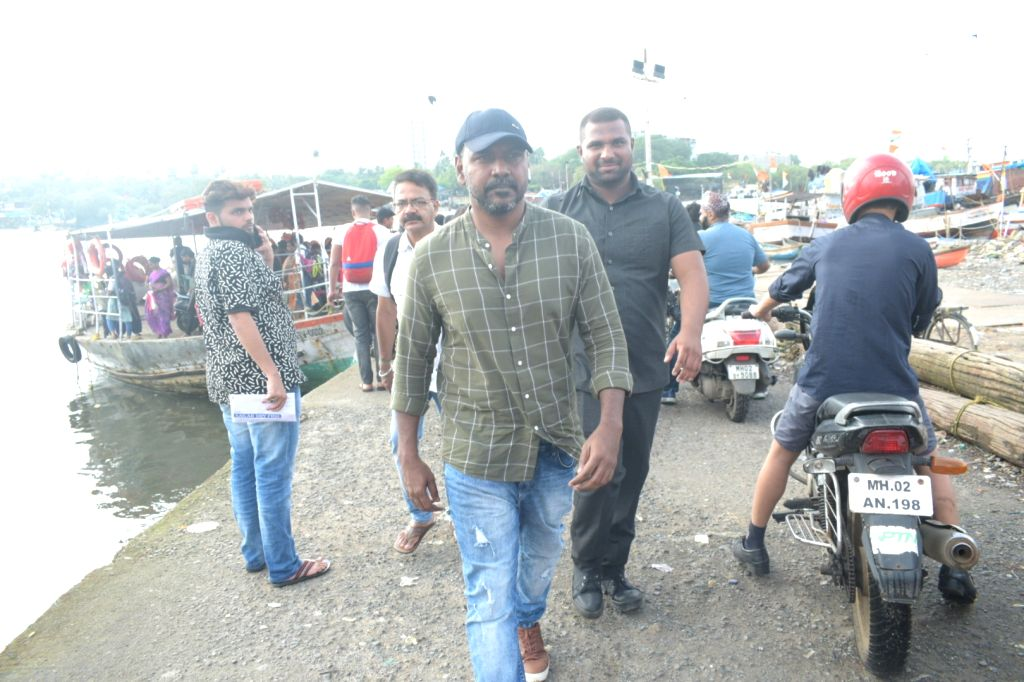 Director and actor Raghava Lawrence seen at Versova Jetty in Mumbai on Sep 20, 2019. - Raghava Lawrence
