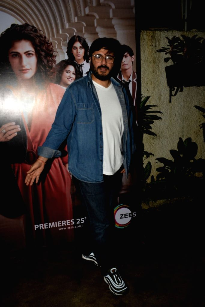 "Director and Producer Goldie Behl at the screening of his upcoming ZEE5 Original series ""RejctX"", in Mumbai on July 24, 2019."