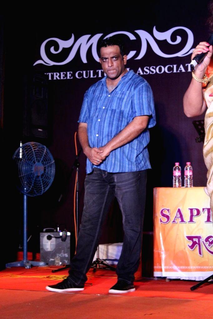 Director Anurag Basu during a programme organised on Durga Puja in Mumbai on Sept 26, 2017. - Anurag Basu