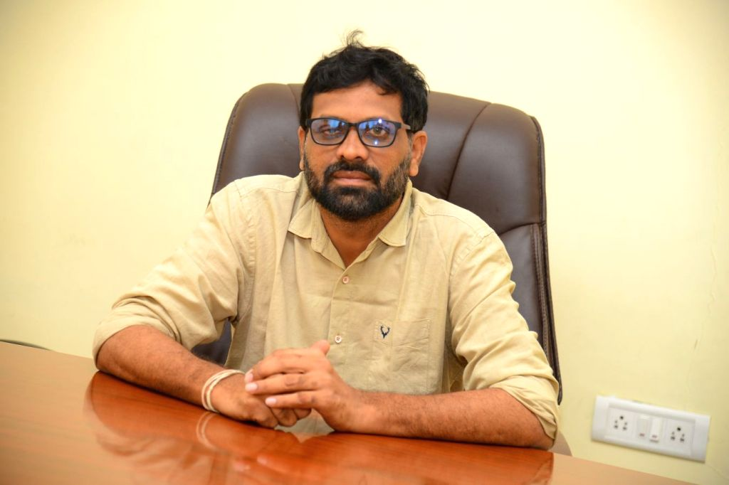 Director Bhanu Shankar a interview in Hyderabad.