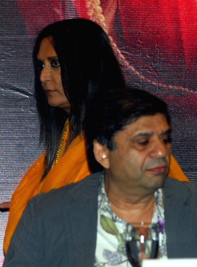 "Director Deepa Mehta and Producer Ravi Chopra address to the press on their new film ""Videsh-Heaven on earth"" in Kolkata on Thursday 19th Mar 09."