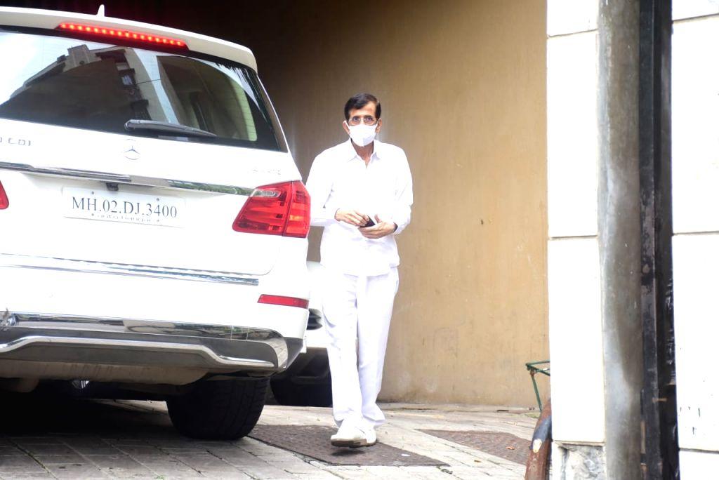 Director duo Abbas Mustan seen at Bandra in Mumbai on Oct 16, 2020.