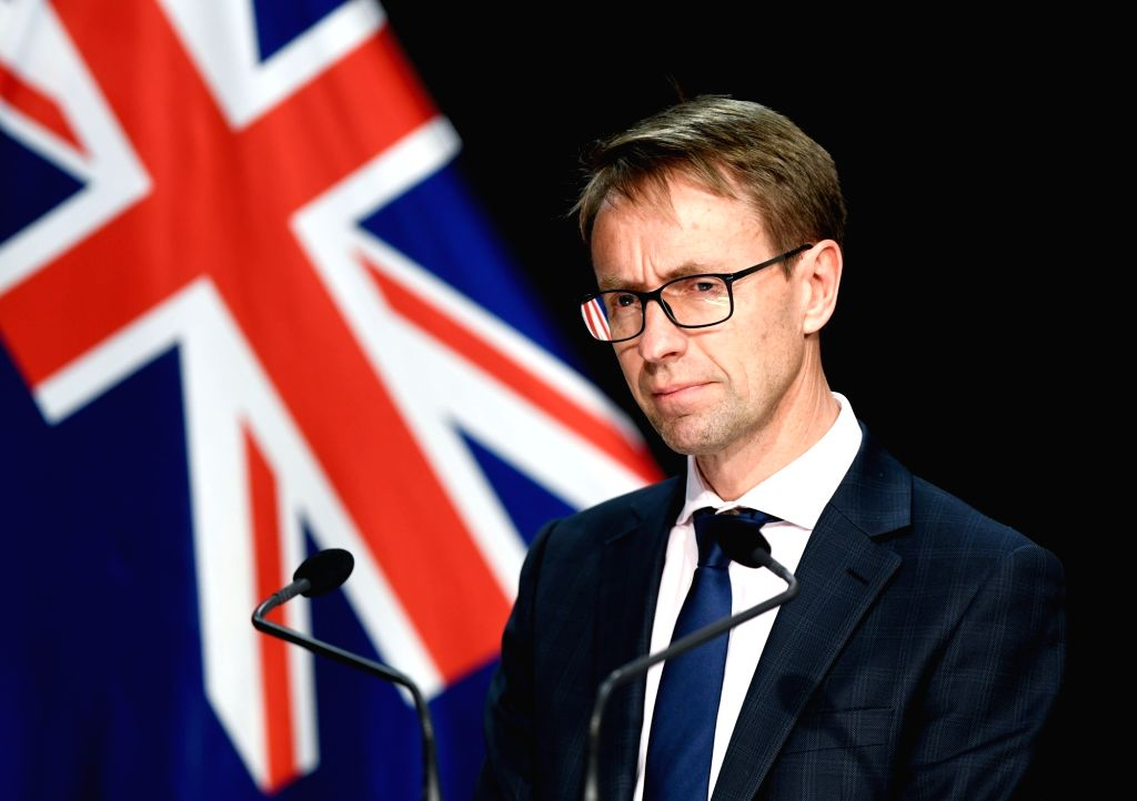 Director General of Health Ashley Bloomfield attends a press conference in Wellington, New Zealand, Aug. 14, 2020.   New Zealand's largest city Auckland will ...
