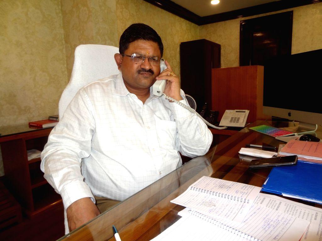 Director General of Tihar Prison Sandeep Goel. (File Photo: IANS)