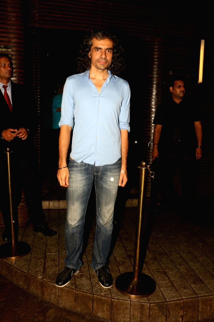 Director Imtiaz Ali at Estella Lounge in Mumbai on Oct 10, 2017.