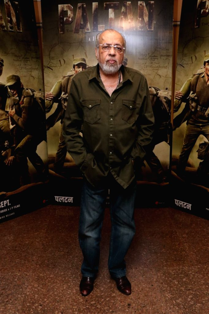 """Director J.P.Dutta during the promotion of his upcoming film """"Paltan"""" in Mumbai on Aug 10, 2018."""