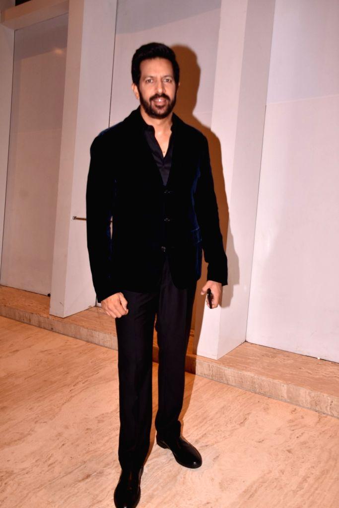 """Director Kabir Khan at star studded red carpet of """"Miss Diva Grand Finale"""" in Mumbai on Oct 11, 2017. - Kabir Khan"""