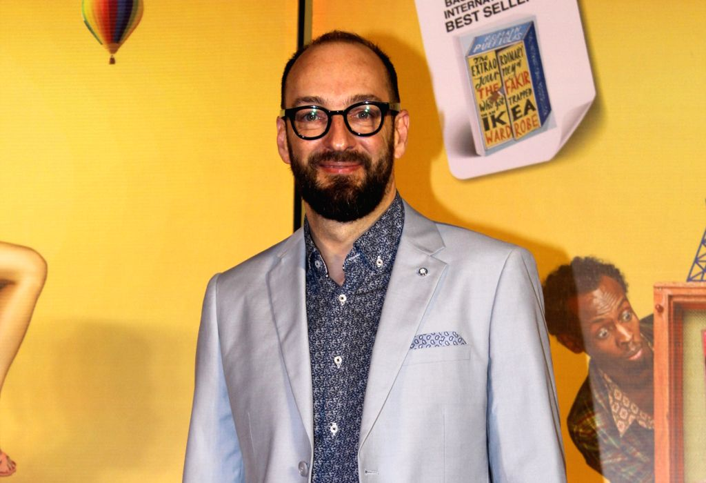 """Director Ken Scott at the trailer launch of his upcoming film """"The Extraordinary Journey of the Fakir"""", in Mumbai, on June 4, 2019."""
