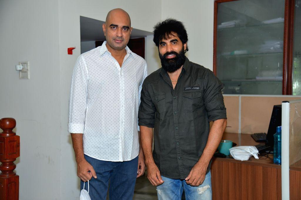 Director Krish Launched Trailer Of Abhinav Sardhar and Ram Karthik Starrer Sci-Fi Action Drama 'Peanut Diamond'.