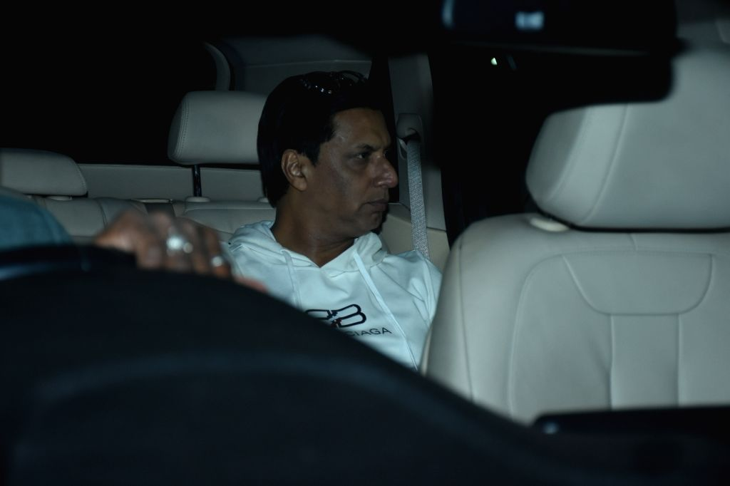 "Director Madhur Bhandarkar at the screening of upcoming film ""Panipat"" in Mumbai on Dec 4, 2019."