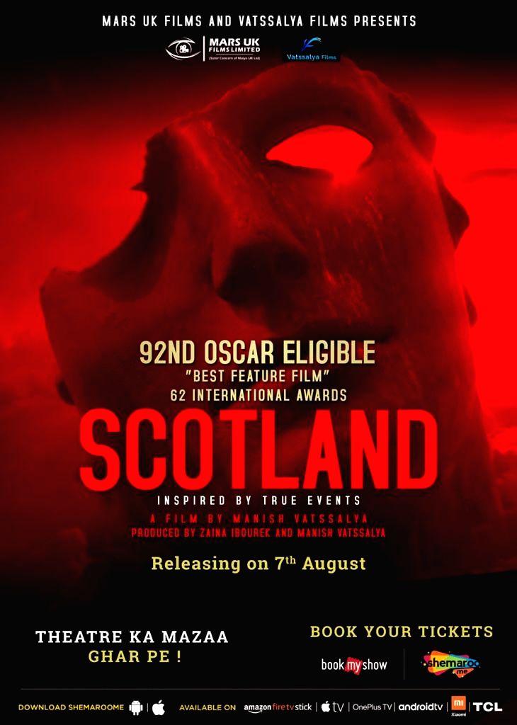 Director Manish Vatsalya's 'Scotland' to be released on 7 August